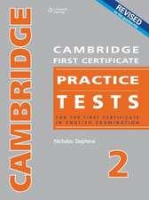 Cambridge First Certificate Practice Tests - Teacher's Book 2