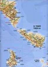 Terrain Map 08 Cyclades 1 : 200.000