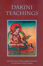 Dakini Teachings:  A Collectin of Padmasambhava's Advice to the Dakini Yeshe Tsogyal
