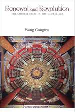 Renewal – The Chinese State and the New Global History