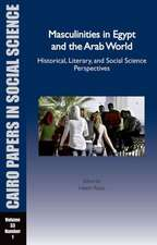 Masculinities in Egypt and the Arab World
