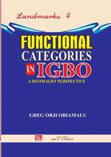 Functional Categories in Igbo. a Minimalist Perspective:  A Novel about Boy Soldiers