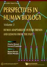Human Adaptability:  Future Trends and Lessons from the Past, Perspective in Human Biology, Vol 3