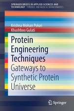 Protein Engineering Techniques: Gateways to Synthetic Protein Universe