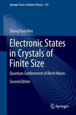Electronic States in Crystals of Finite Size: Quantum Confinement of Bloch Waves