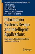 Information Systems Design and Intelligent Applications: Proceedings of Fourth International Conference INDIA 2017