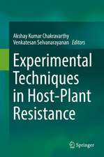 Experimental Techniques in Host-Plant Resistance