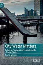 City Water Matters: Cultures, Practices and Entanglements of Urban Water