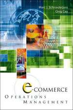 E-Commerce in Operations Management