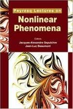Peyresq Lectures on Nonlinear Phenomena, Volume II