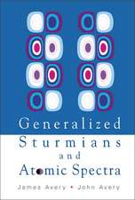 Generalized Sturmians and Atomic Spectra