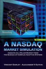 A NASDAQ Market Simulation:  Insights on A Major Market from the Science of Complex Adaptive Systems