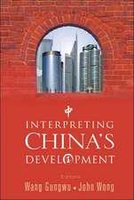 Interpreting China's Development