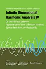 Infinite Dimensional Harmonic Analysis IV:  On the Interplay Between Representation Theory, Random Matrices, Special Functions, and Probability - Proce