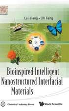 Bioinspired Intelligent Nanostructured Interfacial Materials