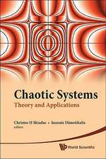 Chaotic Systems:  Theory and Applications