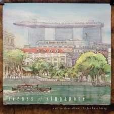 Scenes of Singapore:  A Watercolour Album
