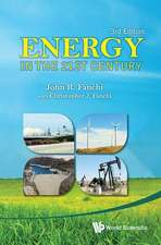 Energy in the 21st Century
