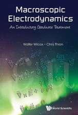 Macroscopic Electrodynamics
