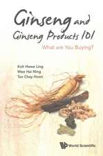 Ginseng and Ginseng Products 101