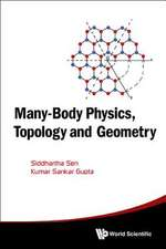 Many-Body Physics, Topology and Geometry