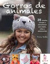 Gorros de Animales:  35 Disenos Salvajes y Maravillosos Para Bebes, Ninos y Adolescentes