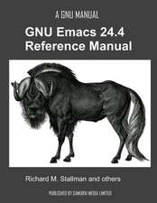 The GNU Emacs 24.4 Reference Manual:  Istanbul