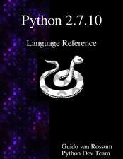 Python 2.7.10 Language Reference