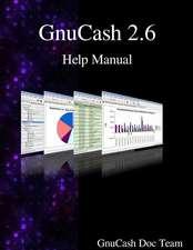 Gnucash 2.6 Help Manual