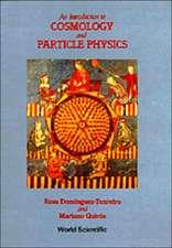 Introduction to Cosmology and Particle P